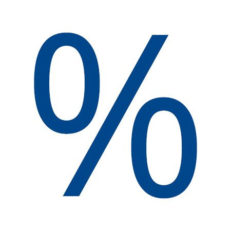 percent sign icon